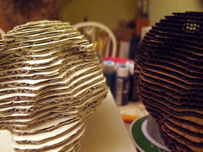 closeup of laser vs hand cut
